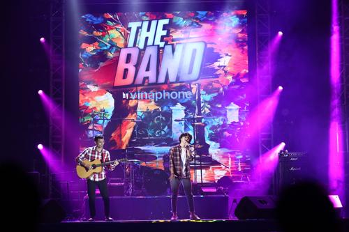 Chương trình The Band by VinaPhone thu hút nhiều nhóm nhạc trẻ.