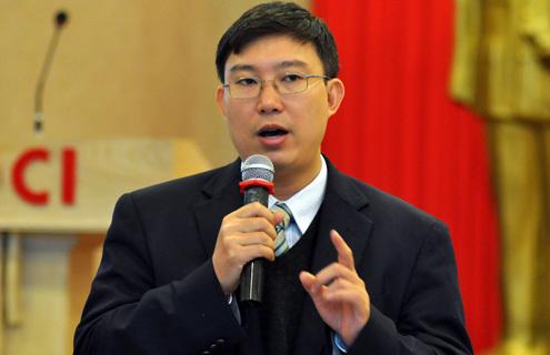 Ông Nguyễn Xuân Thành - Giám đốc Phát triển - Đại học Fulbright Việt Nam. Ảnh: N.M.