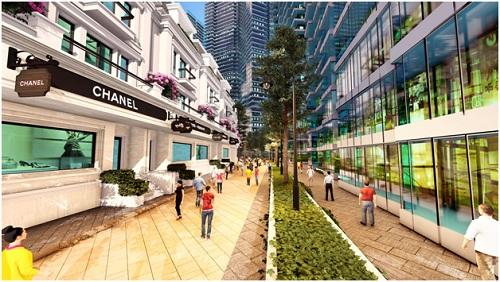 Shophouse Sunshine City sở hữu vị trí đắc địa, hạ tầng đồng bộ.