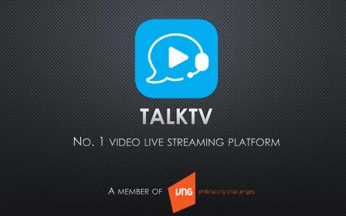 TalkTV - mạng live streaming giải trí tương tác đầu tiên tại Việt Nam.