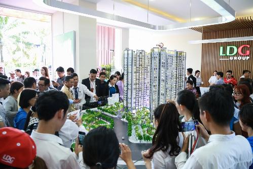 Khu căn hộ thông minh ven sông Saigon Intela do LDG Group đầu tư phát triển thu hút sự quan tâm của nhiều khách hàng.