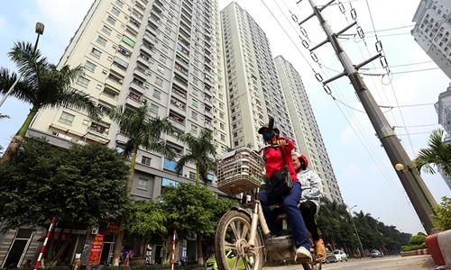 Một dự án chung cư giá rẻ tại Hà Nội. Ảnh: Bá Đô