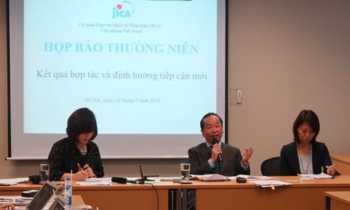 Ông Konaka Tetsuo - Trưởng đại diện Cơ quan Hợp tác Quốc tế Nhật Bản (JICA) Việt Nam. Ảnh: JICA
