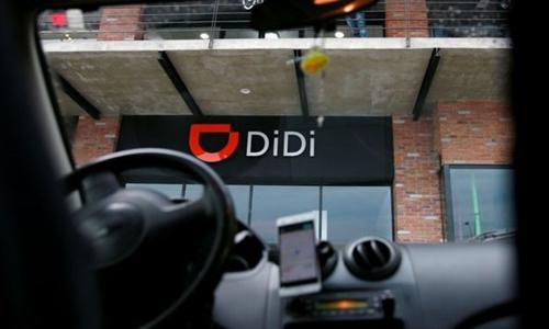 Didi Chuxing hiện là ứng dụng đi chung xe hàng đầu Trung Quốc. Ảnh: Reuters