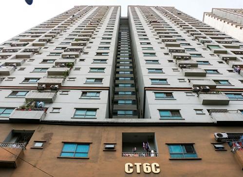 Tòa nhà CT6C xây dựng không phép. Ảnh: VTC News
