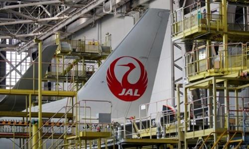 Một máy bay của JAL tại sân bay Haneda. Ảnh: Reuters