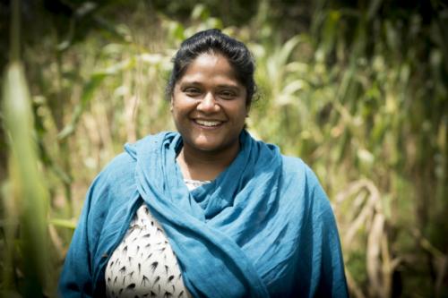 Anushka Ratnayake, CEO và nhà sáng lập của myAgro. Ảnh: The Gurdian