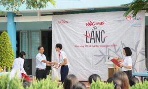 Bia Saigon trao học bổng cho học sinh nghèo trên cả nước