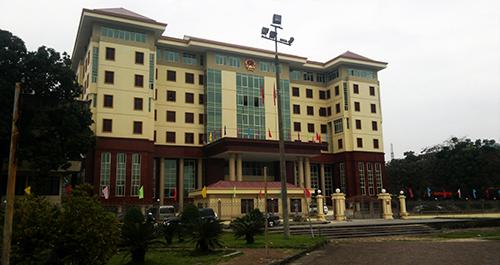 Trụ sở làm việc UBND tỉnh Hà Giang.