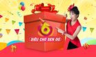 Sen Đỏ ưu đãi lớn nhân sinh nhật 6 năm