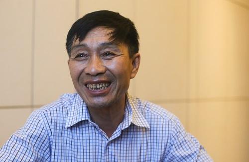 Đội trưởng đội thi công Lê Công Khai nói Landmark 81 là công trình khó nhất và đáng tự hào nhất mà anh em từng tham gia xây dựng. Ảnh: Quỳnh Trần