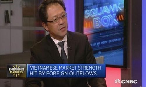 Ông Andy Ho trả lời phỏng vấn của CNBC. Ảnh: CNBC