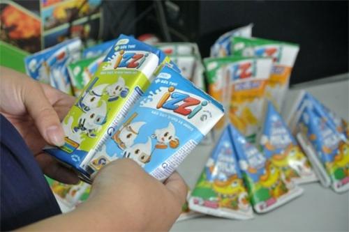 Sữa chua IZZI là thương hiệu nổi tiếng nhất của Hanoimilk.