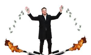 Tesla tiêu 6.500 USD mỗi phút để tồn tại