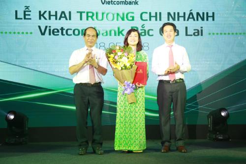 Bà Đỗ Thị Việt Hằng nhận chức vụ Giám đốc chi nhánh.
