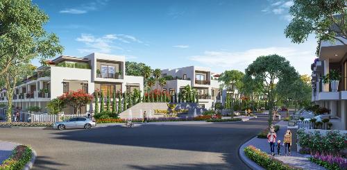Toàn cảnh dự án Thang Long Home - Hưng Phú.