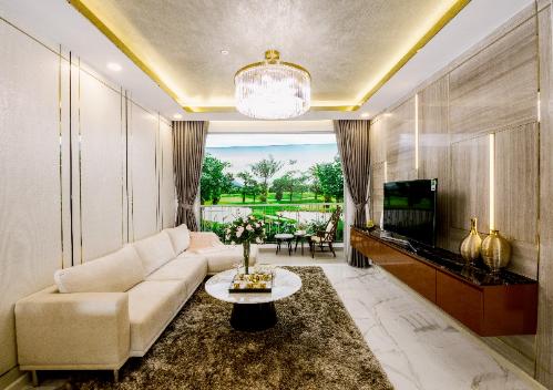 Căn hộ mẫu một phòng ngủ dành cho người chưa lập gia đình hoặc nhà đầu tư tìm kiếm sản phẩm có khả năng sinh lời cao.
