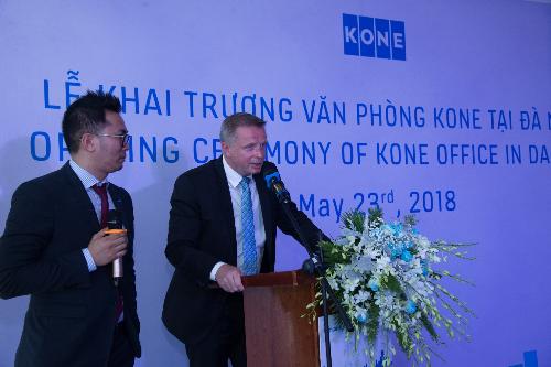 KONE Việt Nam khai trương văn phòng tại Đà Nẵng