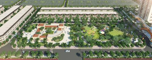 Thang Long Home - Hiệp Phước dành đến 70% diện tích để phát triển các mảng xanh và không gian công cộng.