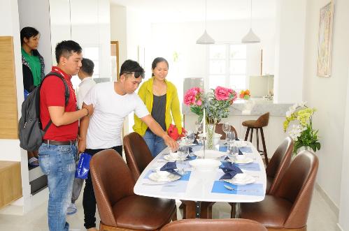 Dự án Thang Long Home - Hiệp Phước dự kiến bàn giao đợt 1 vào nửa cuối năm 2018.