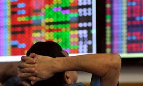 Cổ phiếu ngân hàng lao dốc