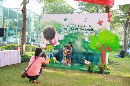 Cư dân Gamuda Land tham gia ngày hội vì môi trường