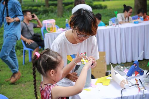 Các bé được tham gia nhiều hoạt động bổ ích