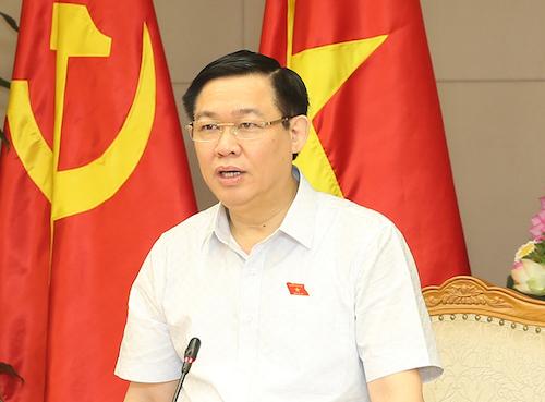 Phó thủ tướng Vương Đình Huệ, Trưởng ban chỉ đạo điều hànhgiá của Chính phủ. Ảnh: VGP