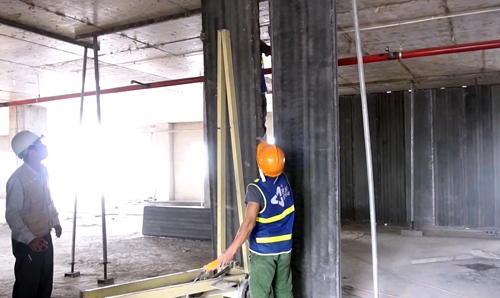 Tấm tường rỗng bê tông đúc sẵn được sử dụng các nguồn nguyên liệu vật liệu chính trong tự nhiên như đá, cát, xi măng&
