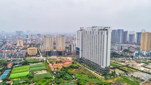 Ecolife Capitol có vị trí đắc địa khi tọa lạctại số 58 Tố Hữu - tức Lê Văn Lương nối dài (Nam Từ Liêm, Hà Nội).