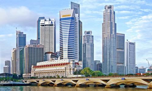 Cao ốc cho thuê tại Singapore, thuộc châu Á Thái Bình Dương. Ảnh: visitsingapore.com