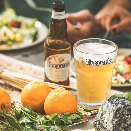 Hoegaarden là loại bia trắng được ưa chuộng tại Bỉ và trên thế giới.