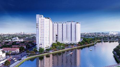 Căn hộ tầm nhìn hướng sông là một trong những điểm cộng của dự án Marina Riverside.