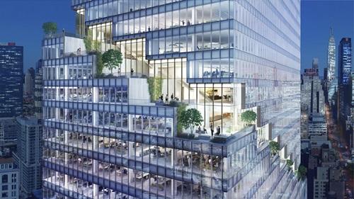 Dự án khi hoàn thành sẽ cung cấp khoảng 26,4ha diện tích văn phòng cho thành phố New York, Mỹ.