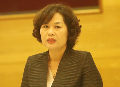 Bà Nguyễn Thị Hồng - Phó thống đốc Ngân hàng Nhà nước. Ảnh: Võ Hải