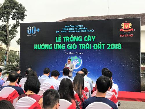 Nhãn hàng Bia Hà Nội đồng hành cùng nhiều hoạt động xã hội.