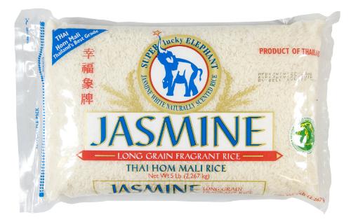 Gạo Hom Mali của Thái được bán trong hệ thống siêu thị Walmart của Mỹ. Ảnh:Walmart