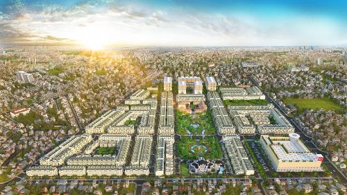 Phối cảnh tổng thể dự án Cityland Park Hills tại 18 Phan Văn Trị, phường 10, quận Gò Vấp, TP HCM. Hotline: 0968228811.
