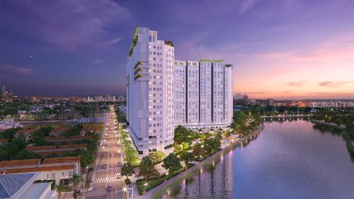 Căn hộ Marina Riverside thiết kế theo phong cách Singapore.