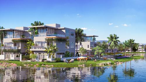 Tiểu khu The Sapphire bao gồm 88 căn biệt thự bên hồ - cận biển