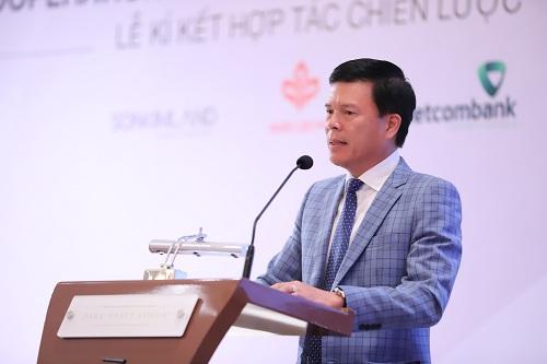 Ông Phạm Mạnh Thắng  Phó tổng giám đốc Vietcombank.