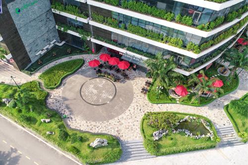 Dự án đạt giải công trình xanh tốt nhất do Hiệp hội Bất động sản Việt Nam trao. Xem thêm tại website. Hotline: 0936 90 91 91 - 0916 25 00 33.