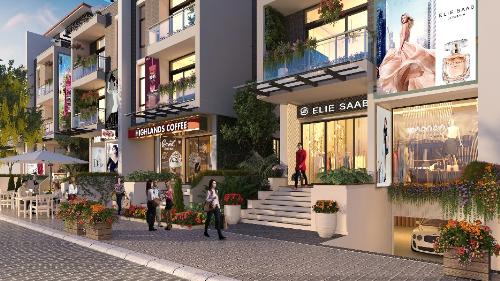 Cơ hội khám phá Milan khi mua Shop villaImperia Garden