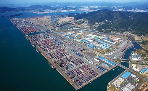 Khu Kinh tế Tự do ở vịnh Gwangyang của Hàn Quốc. Ảnh:Korean Free Economic Zones