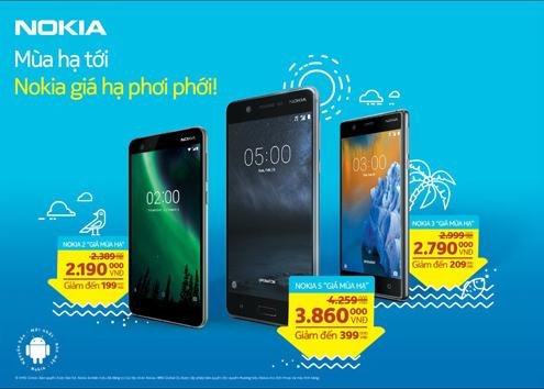 Nhiều ưu đãi từ Nokia.