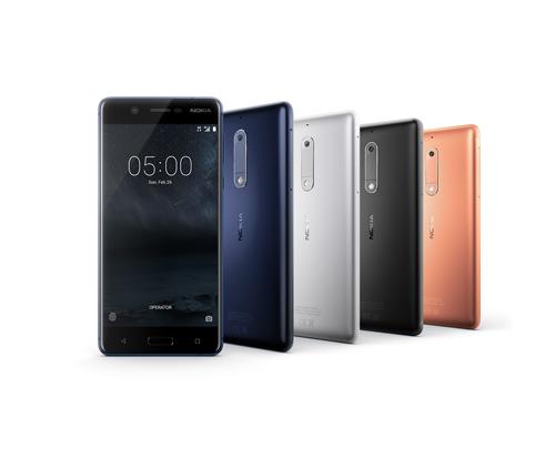 Nokia 5 có mức giá bán lẻ là 3,86 triệu đồng.