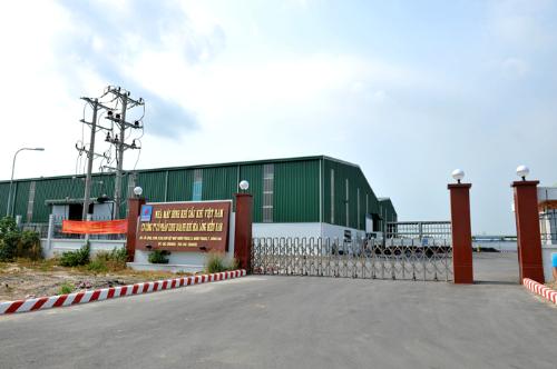 Nhà máy sản xuất bình khí gas của PVGas.