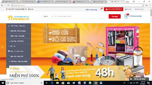 Sàn thương mại điện tử onlineaz.vn ra đời nhằm thay đổi thói quen mua sắm thông thường của người Việt.