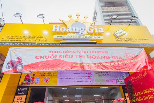 Siêu thị Hoàng Gia Mart chi nhánh 339 Thống Nhất, phường 11, quận Gò Vấp, TP HCM.