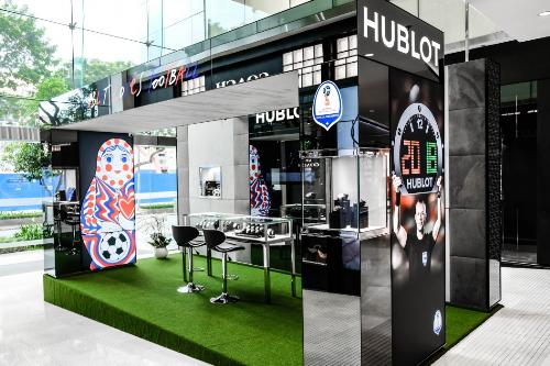 Hublot Pop up đã chính thức đi vào hoạt động tại Saigon Centre